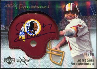 2007 Upper Deck Sweet Spot Signatures Silver #TN Joe Theismann /99