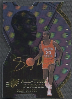 2013 Upper Deck All-Time Greats #ATFGP Gary Payton All-Time Forces Auto #02/35