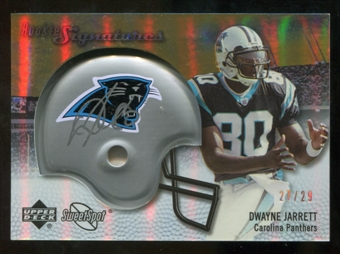 2007 Upper Deck Sweet Spot Rookie Signatures Gold #132 Dwayne Jarrett /29