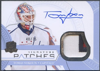 2011/12 The Cup #SPVO Tomas Vokoun Signature Patch Auto #48/75