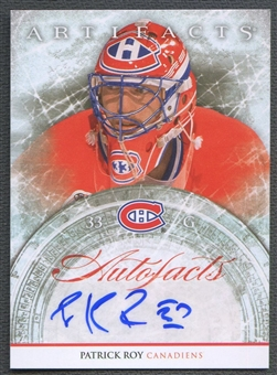 2012/13 Artifacts #APR Patrick Roy Autofacts Auto