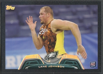 2013 Topps #414 Lane Johnson Rookie Black #12/58