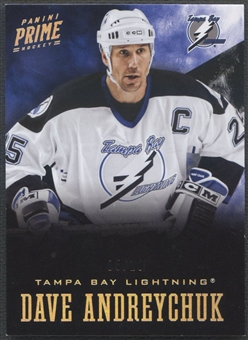 2012/13 Panini Prime #2 Dave Andreychuk Holosilver #05/10