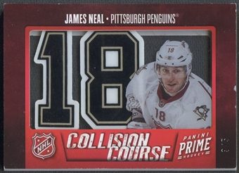 2012/13 Panini Prime #6 James Neal Collision Course Helmet Sticker #3/5