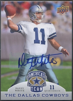 2009 Upper Deck #21 Danny White America's Team Auto