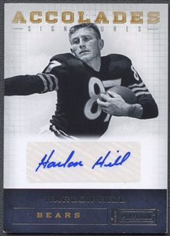2011 Panini Playbook #40 Harlon Hill Accolades Signatures Auto #15/49
