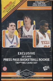 2006/07 Press Pass Basketball 25 Card Set