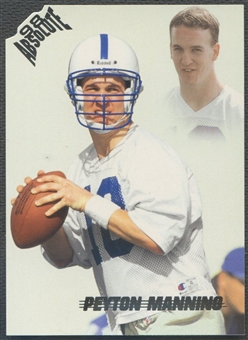 1998 Absolute Retail #165 Peyton Manning Rookie
