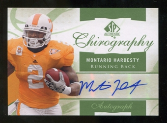 2010 Upper Deck SP Authentic Chirography #MH Montario Hardesty Autograph