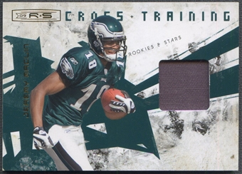 2009 Donruss Rookies and Stars #17 Jeremy Maclin Crosstraining Rookie Patch #01/50