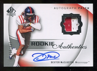 2010 Upper Deck SP Authentic #121 Dexter McCluster Jersey Autograph /499
