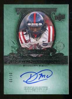 2010 Upper Deck Exquisite Collection Endorsements #EDM Dexter McCluster Autograph /50