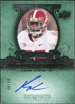 2010 Upper Deck Exquisite Collection Endorsements #ERO Rolando McClain Autograph 44/50