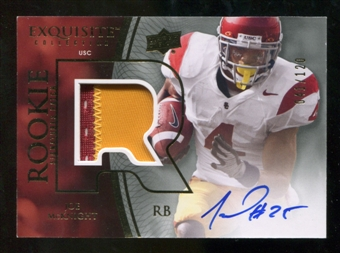2010 Upper Deck Exquisite Collection #123 Joe McKnight RC Patch Autograph 41/120
