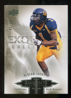 2010 Upper Deck Exquisite Collection #28 DeSean Jackson /35