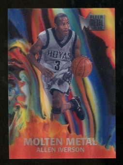 2012/13 Upper Deck Fleer Retro 96-97 Molten Metal #4 Allen Iverson
