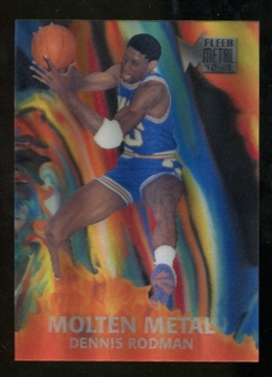 2012/13 Upper Deck Fleer Retro 96-97 Molten Metal #6 Dennis Rodman