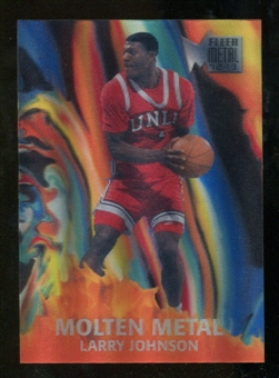 2012/13 Upper Deck Fleer Retro 96-97 Molten Metal #7 Larry Johnson