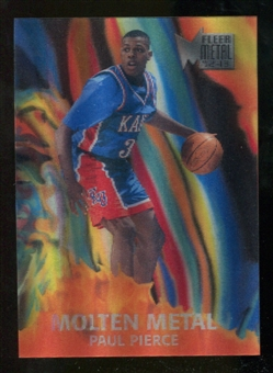 2012/13 Upper Deck Fleer Retro 96-97 Molten Metal #16 Paul Pierce
