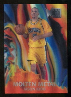 2012/13 Fleer Retro 96-97 Molten Metal #18 Jason Kidd