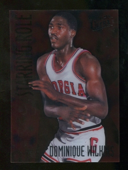 2012/13 Upper Deck Fleer Retro 97-98 Ultra Starring Role #3 Dominique Wilkins