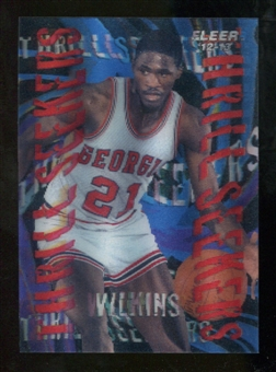2012/13 Upper Deck Fleer Retro 96-97 Tradition Thrill Seekers #11 Dominique Wilkins