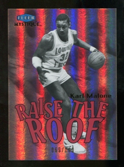 2012/13 Fleer Retro 99-00 Mystique Raise the Roof #2RR Karl Malone /100