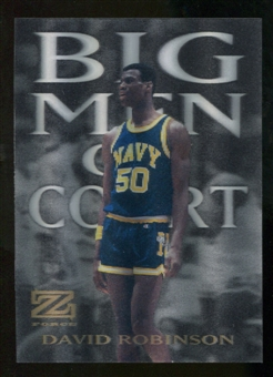 2012/13 Upper Deck Fleer Retro 97-98 Z-Force Big Men on Court #2 BMOC David Robinson