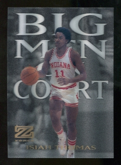 2012/13 Upper Deck Fleer Retro 97-98 Z-Force Big Men on Court #3 BMOC Isiah Thomas