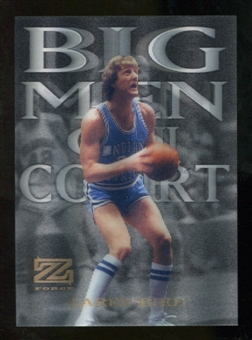 2012/13 Upper Deck Fleer Retro 97-98 Z-Force Big Men on Court #4 BMOC Larry Bird