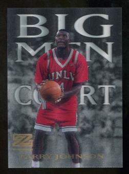 2012/13 Upper Deck Fleer Retro 97-98 Z-Force Big Men on Court #10 BMOC Larry Johnson