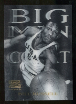 2012/13 Upper Deck Fleer Retro 97-98 Z-Force Big Men on Court #11 BMOC Bill Russell