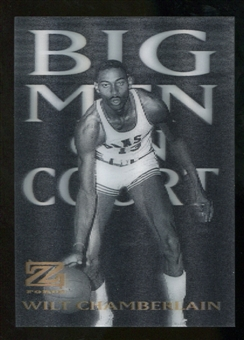 2012/13 Upper Deck Fleer Retro 97-98 Z-Force Big Men on Court #20 BMOC Wilt Chamberlain