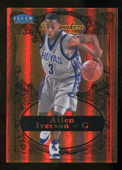 2012/13 Upper Deck Fleer Retro 98-99 Tradition Playmakers Theater #5PT Allen Iverson /100