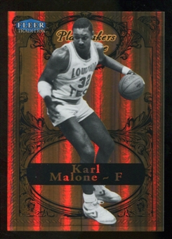 2012/13 Upper Deck Fleer Retro 98-99 Tradition Playmakers Theater #9PT Karl Malone /100
