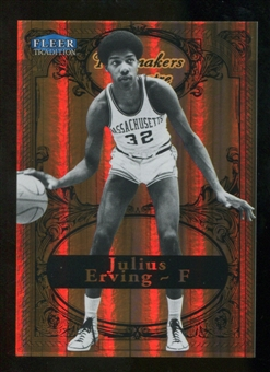 2012/13 Upper Deck Fleer Retro 98-99 Tradition Playmakers Theater #10PT Julius Erving /100