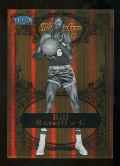 2012/13 Upper Deck Fleer Retro 98-99 Tradition Playmakers Theater #16PT Bill Russell /100