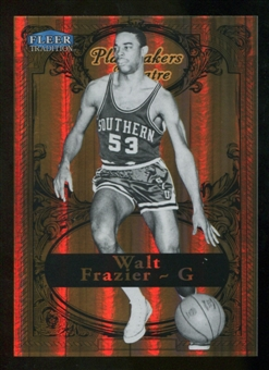 2012/13 Upper Deck Fleer Retro 98-99 Tradition Playmakers Theater #17PT Walt Frazier /100