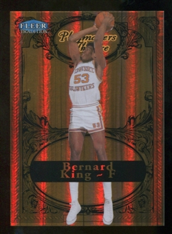 2012/13 Upper Deck Fleer Retro 98-99 Tradition Playmakers Theater #19PT Bernard King /100