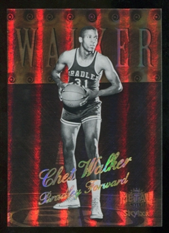 2012/13 Upper Deck Fleer Retro 98-99 Metal Universe Precious Metal Gems #98PM17 Chet Walker /50