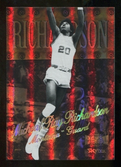 2012/13 Upper Deck Fleer Retro 98-99 Metal Universe Precious Metal Gems #98PM27 Micheal Ray Richardson /50