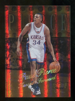 2012/13 Upper Deck Fleer Retro 98-99 Metal Universe Precious Metal Gems #98PM40 Paul Pierce /50