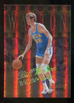 2012/13 Upper Deck Fleer Retro 98-99 Metal Universe Precious Metal Gems #98PM42 Bill Walton /50