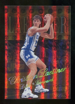 2012/13 Upper Deck Fleer Retro 98-99 Metal Universe Precious Metal Gems #98PM45 Christian Laettner /50