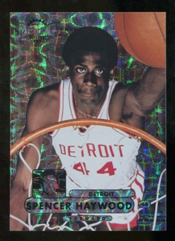 2012/13 Upper Deck Fleer Retro 97-98 Metal Universe Precious Metal Gems #97PM8 Spencer Haywood /100