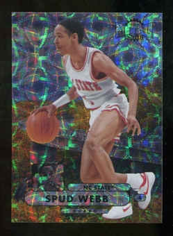 2012/13 Upper Deck Fleer Retro 97-98 Metal Universe Precious Metal Gems #97PM11 Spud Webb /100