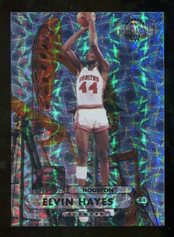 2012/13 Upper Deck Fleer Retro 97-98 Metal Universe Precious Metal Gems #97PM21 Elvin Hayes /100