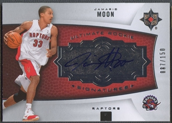 2007/08 Ultimate Collection #126 Jamario Moon Rookie Auto #087/150
