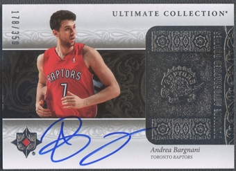 2006/07 Ultimate Collection #182 Andrea Bargnani Rookie Auto #178/350