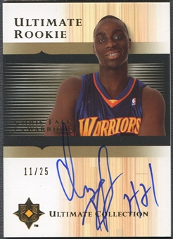 2005/06 Ultimate Collection #177 Chris Taft Gold Rookie Auto #11/25